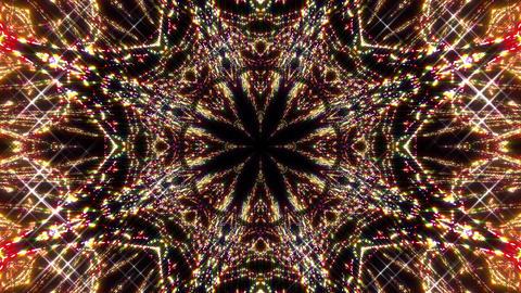 Kaleidoscope illumination neon light E1 4k Animation