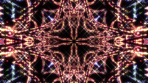 Kaleidoscope illumination neon light E2 4k CG動画