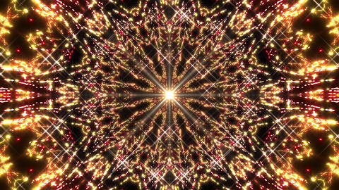 Kaleidoscope illumination neon light E4 4k CG動画