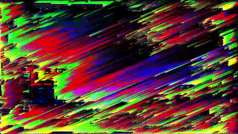 Glitch Pixel salt VJ Loop Footage CG動画