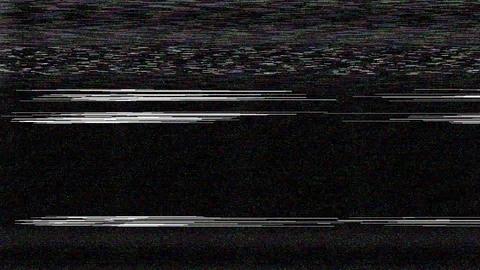 VHS TV ノイズ VJ Loop CG動画