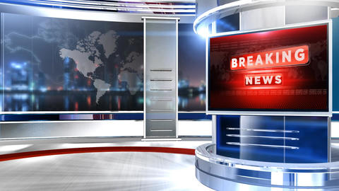BREAKING NEWS RED Animation