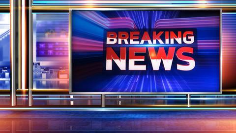 Breaking news loop Animation