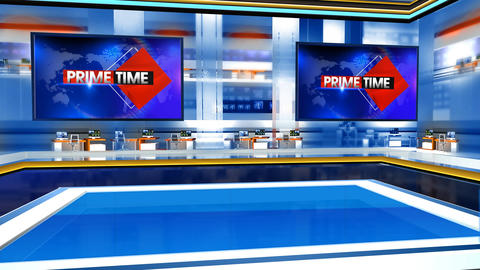 Prime time virtual studio Animation