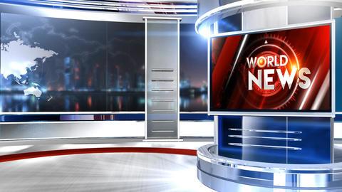 WORLD NEWS Animation