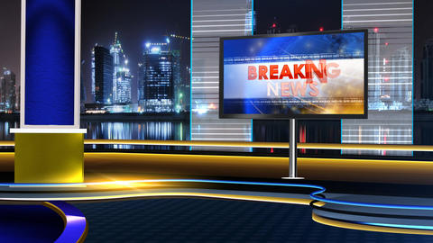 Breaking newsvv Animation