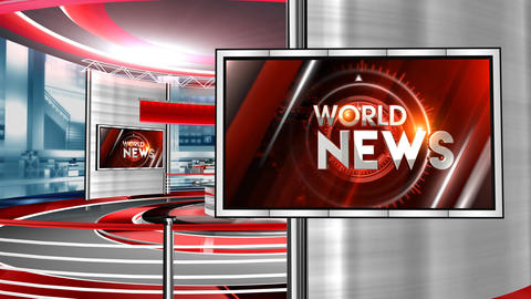 World news red studio Animation