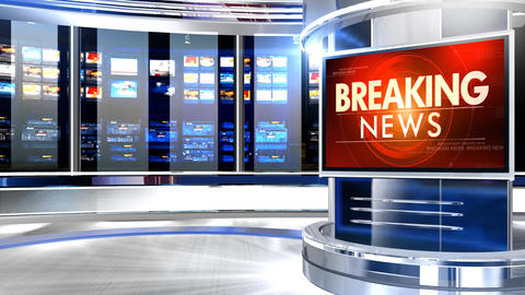 Breaking news pcr studio Animation