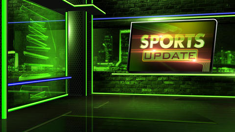 Sports update Animation