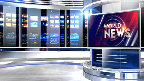 World news Pcr studio Animation