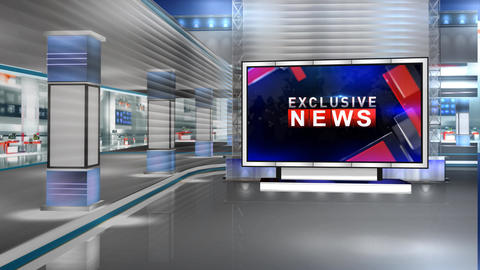 Exclusive News Animation