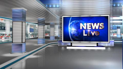 News Live Animation