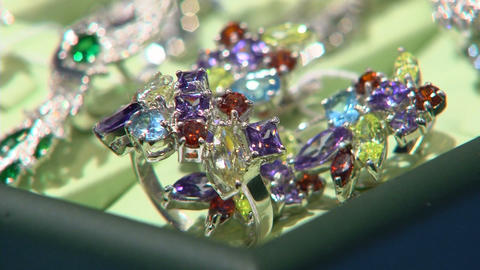 jewelry rings with precious stones Live Action