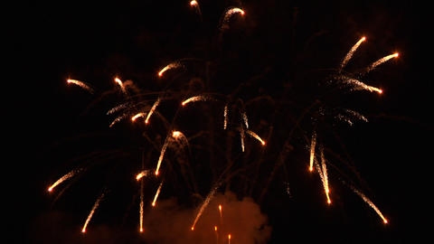 firework 01 Stock Video Footage