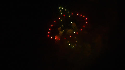 firework 03 Stock Video Footage