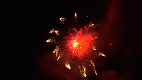 firework 05 Stock Video Footage