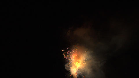 firework 09 Stock Video Footage