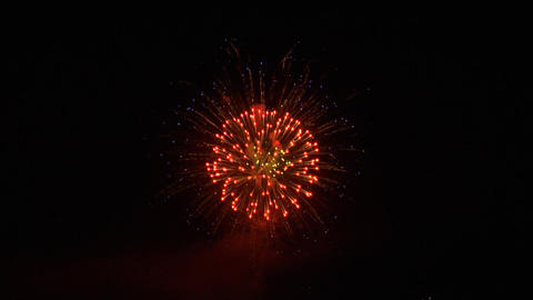 firework 24 Stock Video Footage