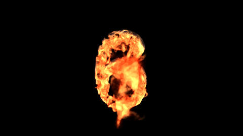 fire 6 Stock Video Footage