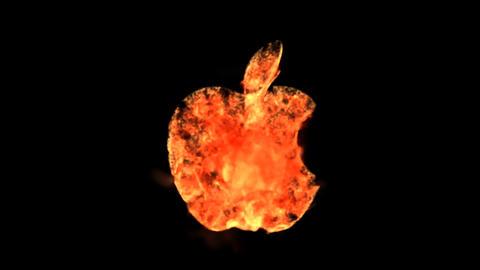 fire applelogo Animation