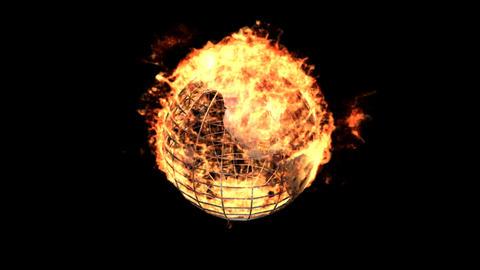 fire earth Animation