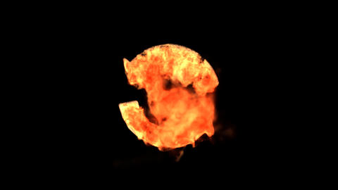 fire recycle Stock Video Footage