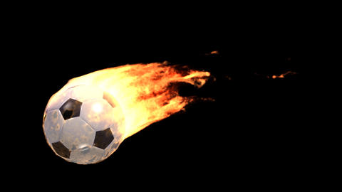 fire soccer Animation