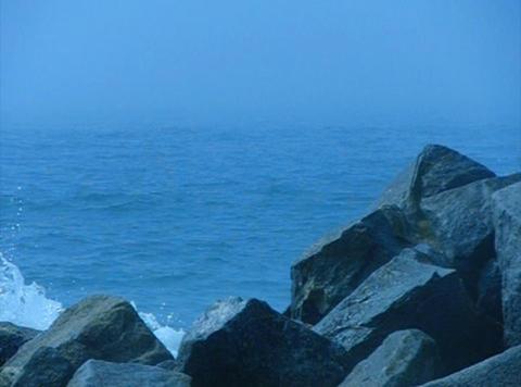 Ocean Waves 08 Waves crashing on rocks Loop Stock Video Footage