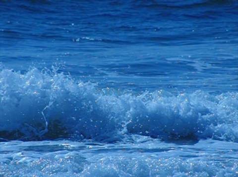 Ocean Waves 16 Waves crashing on beach Loop Stock Video Footage