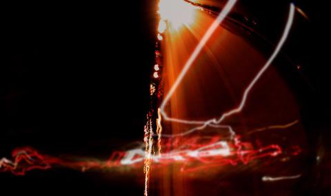 Light Streaks 6 Stock Video Footage