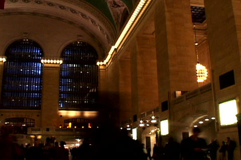 Grand Central Station Shutter 2 Stock Video Footage
