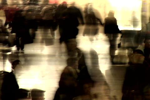 Grand Central Station Shutter Med Blend 3 Footage