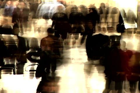 Grand Central Station Shutter Med Blend 3 Stock Video Footage