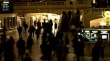 Grand Central Station Shutter Wide 2 stock footage