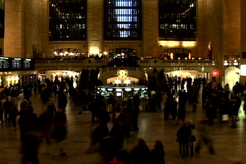 Grand Central Station Shutter XWide 2 Footage