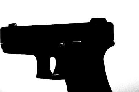 Glock pistol Stock Video Footage