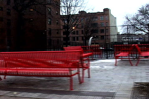 /Marcy_Projects_Red_Benches-PhotoJPEG_SD.zip Stock Video Footage