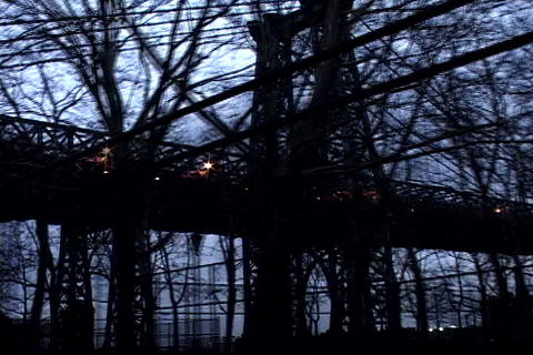 New York bridge Stock Video Footage