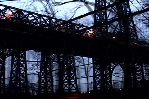 New York bridge Stock Video Footage