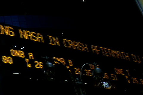 Stocks index signboard Footage