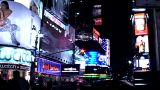 Times Square Buildings stock footage