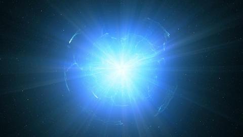 Huge galactic explosion Animation