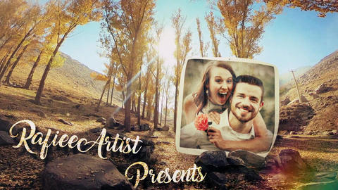 Autumn Love Story Slideshow After Effects Template