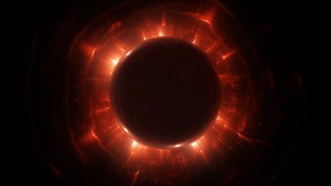 Large black hole expansion Animation