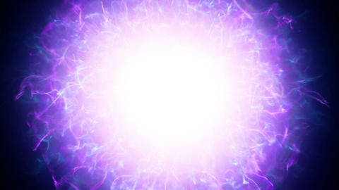 Bright source of energy Animation