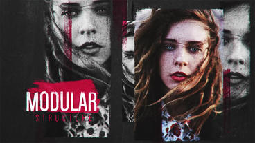 Grunge slideshow After Effects Templates