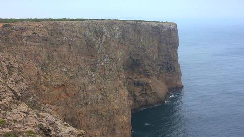 Coastal Cliffs At Ocean Live Action