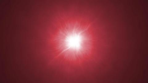 Red bright light Animation