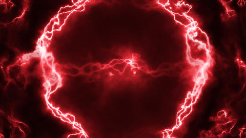 Red electrical abstract Animation