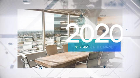 Corporate Timeline Opener After Effects Template